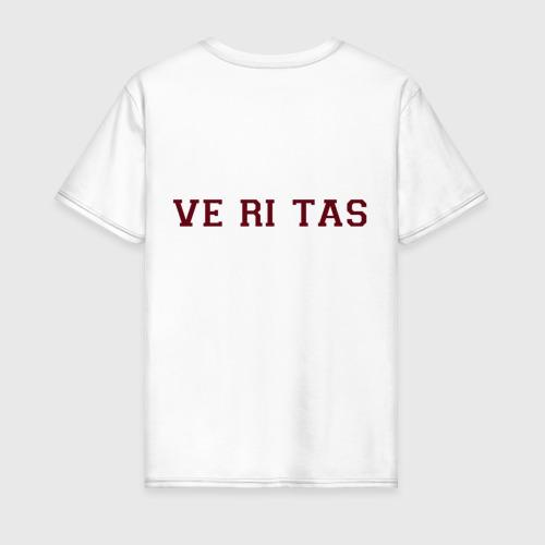 Мужская футболка хлопок Harvard University_девиз Фото 01
