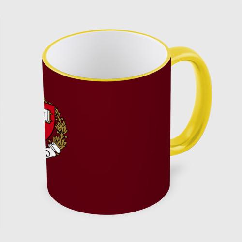 Кружка с полной запечаткой Harvard University