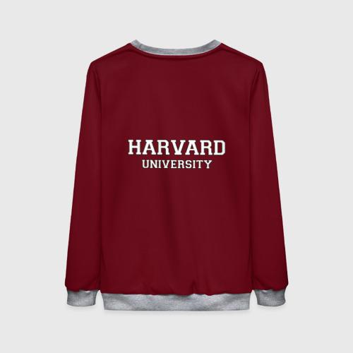 Женский свитшот 3D Harvard University Фото 01