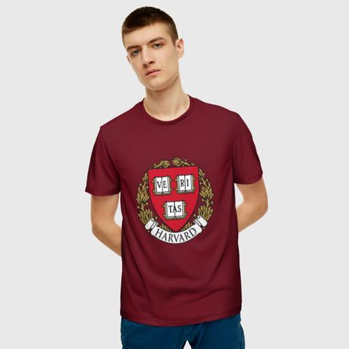 Мужская футболка 3D  Фото 03, Harvard University