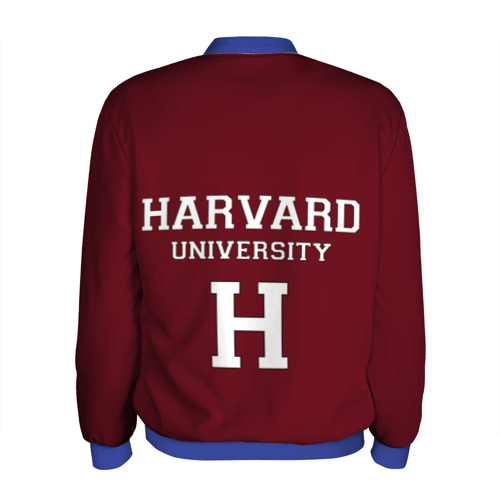 Мужской бомбер 3D Harvard University Фото 01