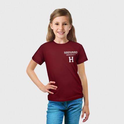 Детская футболка 3D  Фото 03, Harvard University