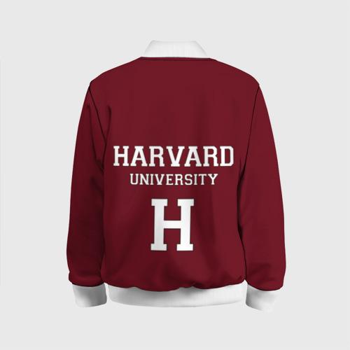 Детский бомбер 3D Harvard University Фото 01