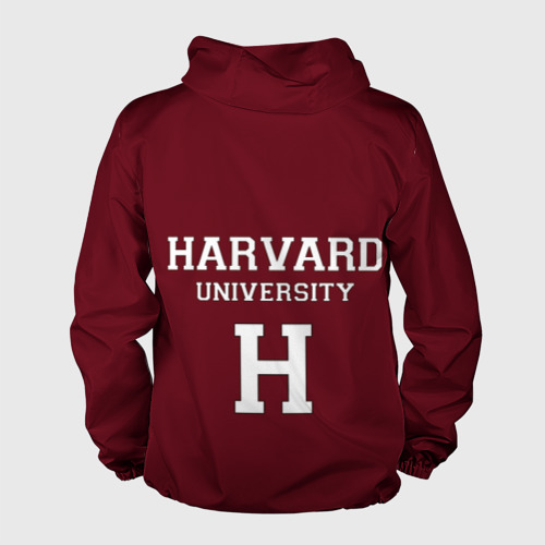 Мужская ветровка 3D Harvard University Фото 01