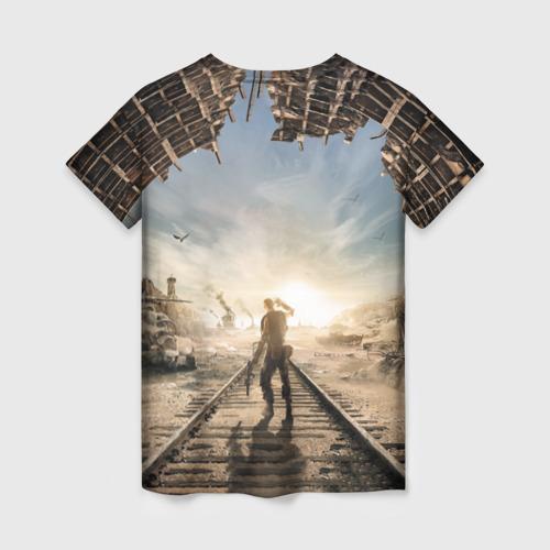 Женская футболка 3D Метро Исход Фото 01