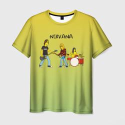Nirvana в стиле simpsons