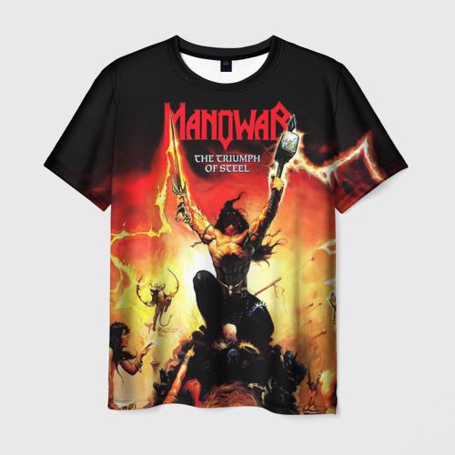 Мужская футболка 3D Manowar Фото 01