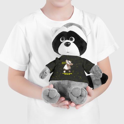 Игрушка Енотик в футболке 3D TOP. Chlorine. NED Фото 01