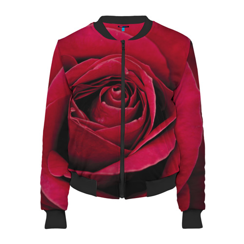 Бутон алой розы