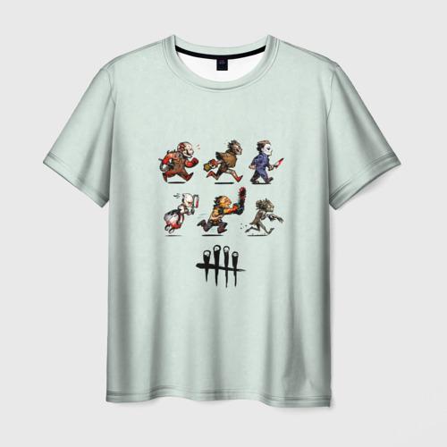 Мужская футболка 3D Dead by Daylight Фото 01