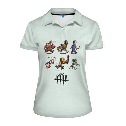 Женская рубашка поло 3D Dead by Daylight Фото 01