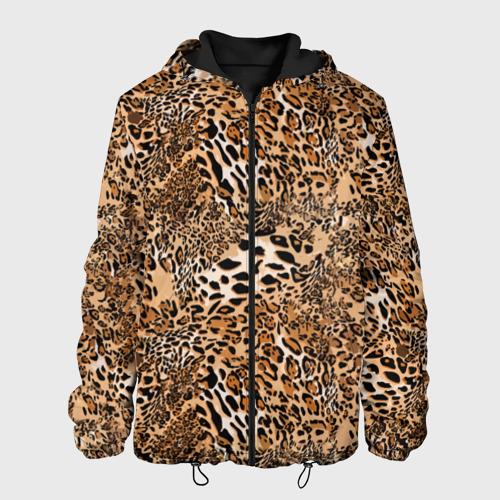 Мужская куртка 3D Леопард Фото 01