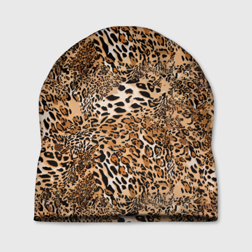 Шапка 3D Леопард Фото 01