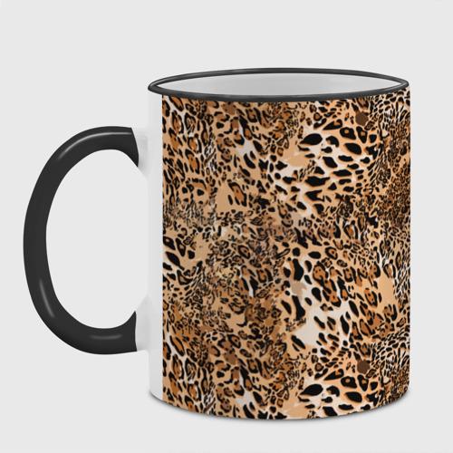 Кружка с полной запечаткой Леопард Фото 01