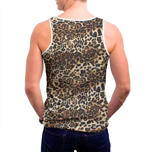 Мужская майка 3D Леопард Фото 01