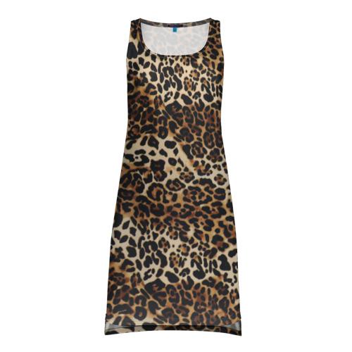 Платье-майка 3D Леопард Фото 01
