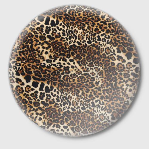 Значок Леопард Фото 01