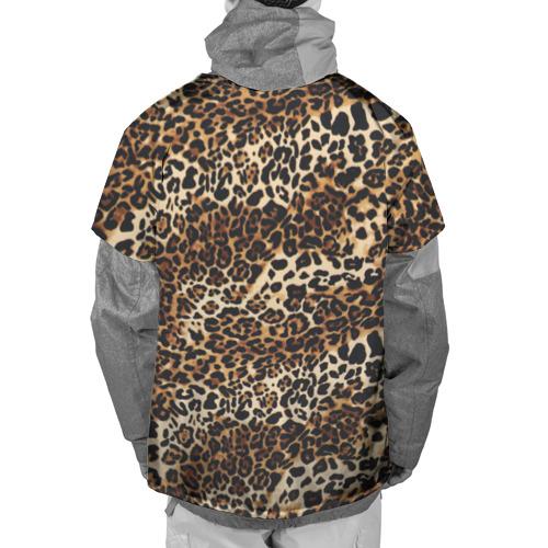 Накидка на куртку 3D Леопард Фото 01