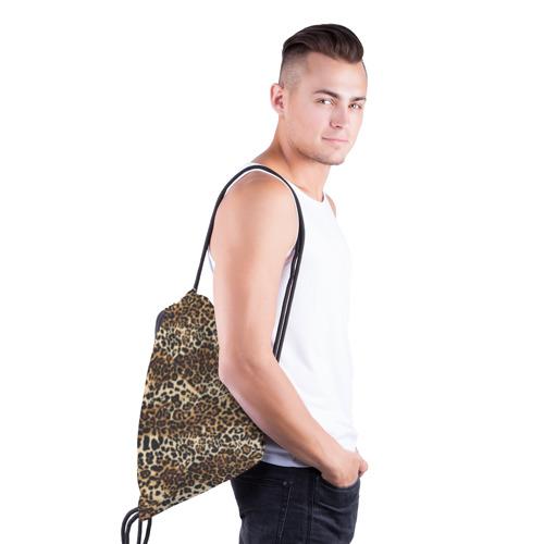 Рюкзак-мешок 3D Леопард Фото 01
