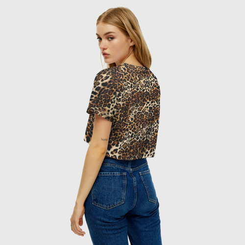 Женская футболка Cropp-top Леопард Фото 01