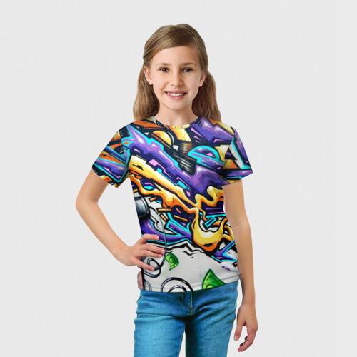 Детская футболка 3D NEON GRAFFITI Фото 01