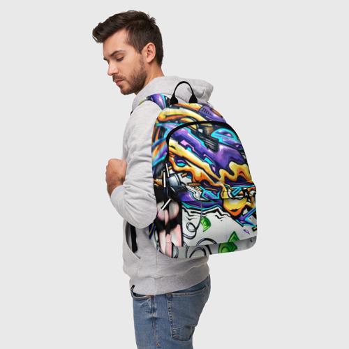 Рюкзак 3D NEON GRAFFITI Фото 01