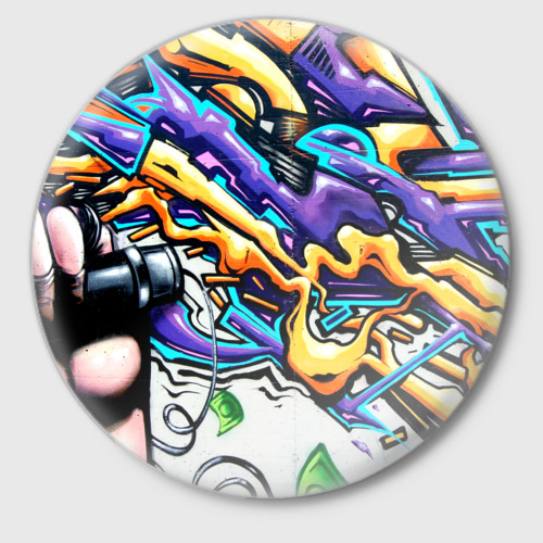Значок NEON GRAFFITI Фото 01
