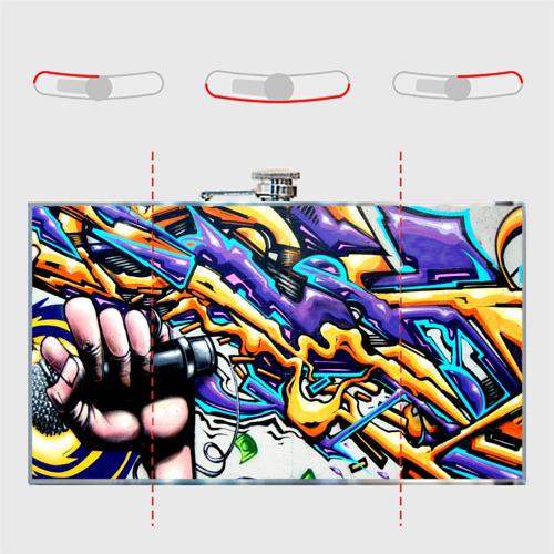 Фляга NEON GRAFFITI Фото 01