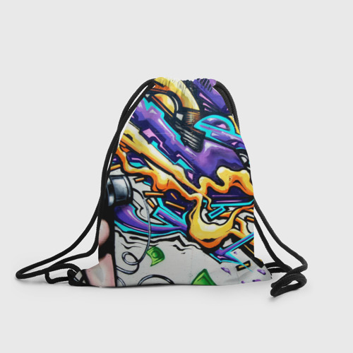 Рюкзак-мешок 3D NEON GRAFFITI Фото 01