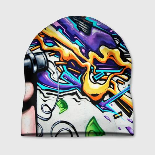 Шапка 3D NEON GRAFFITI Фото 01