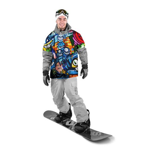 Накидка на куртку 3D GRAFFITI EXCLUSIVE Фото 01