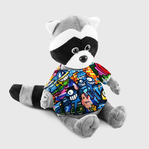 Игрушка Енотик в футболке 3D GRAFFITI EXCLUSIVE Фото 01