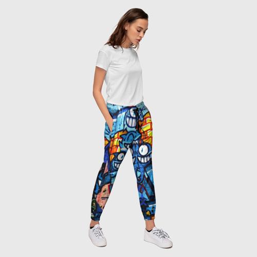 Женские брюки 3D GRAFFITI EXCLUSIVE Фото 01