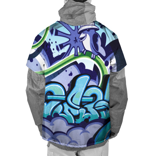 Накидка на куртку 3D Graffiti Фото 01