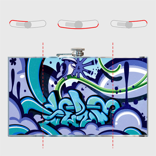 Фляга Graffiti Фото 01