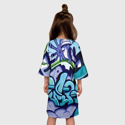 Детское платье 3D Graffiti Фото 01