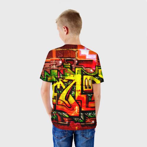Детская футболка 3D Граффити Фото 01