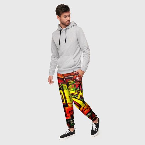 Мужские брюки 3D Граффити Фото 01