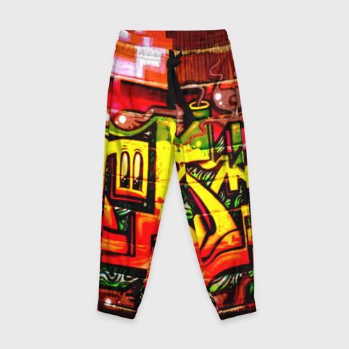 Детские брюки 3D Граффити Фото 01