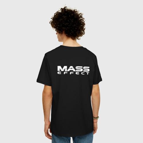 Мужская футболка хлопок Oversize MASS EFFECT N7 Фото 01