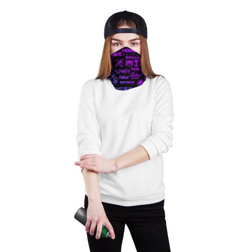 Бандана-труба 3D ЛОГОТИПЫ ИГР Фото 01