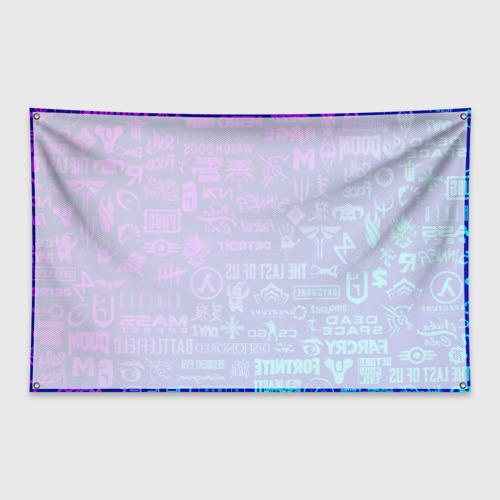 Флаг-баннер ЛОГОТИПЫ ИГР Фото 01