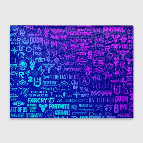 Обложка для студенческого билета ЛОГОТИПЫ ИГР Фото 01