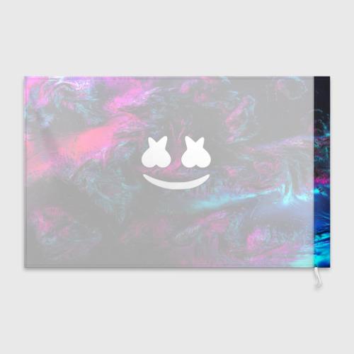 Флаг 3D Marshmello NEON Фото 01