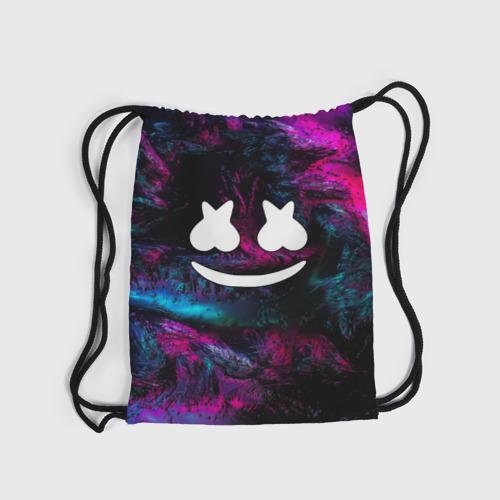 Рюкзак-мешок 3D Marshmello NEON Фото 01