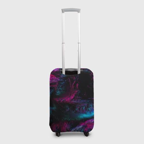 Чехол для чемодана 3D Marshmello NEON Фото 01