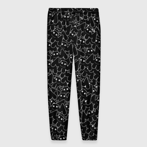 Мужские брюки 3D ШТАНЫ MARSHMELLO BLACK | МАРШМЕЛЛО Фото 01