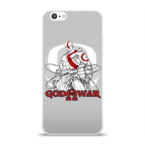 Чехол для Apple iPhone 6 силиконовый глянцевый God of War Фото 01