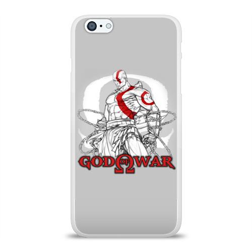Чехол для Apple iPhone 6Plus/6SPlus силиконовый глянцевый God of War Фото 01