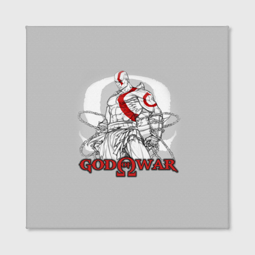 Холст квадратный God of War Фото 01